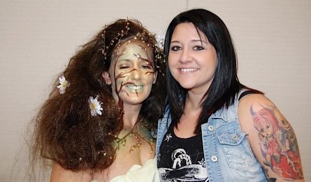 3rd Place Fantasy Makeup Winner Sara McCoy
